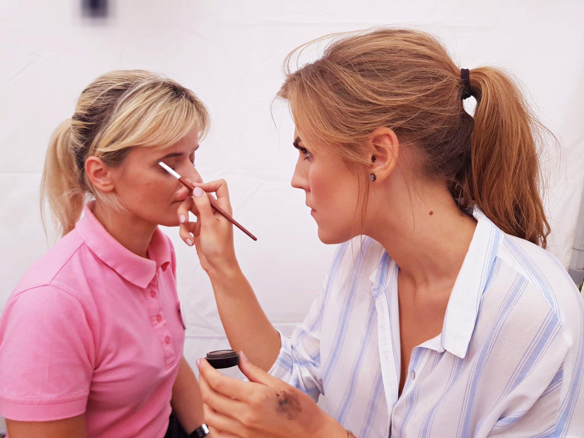 makijaż, atrakcje, malowanie, festiwal, Kobieta Liderem Świata, piękno
